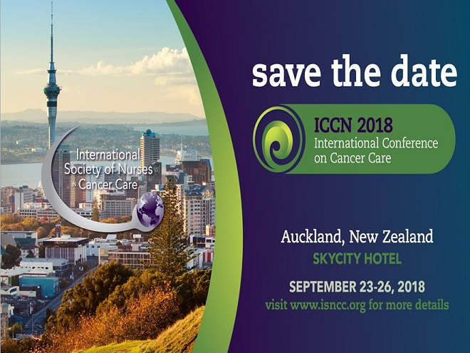 ICCN 2018 in Auckland, New Zealand. Save the date!